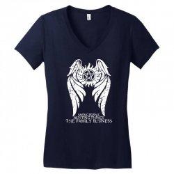 The Family Business Women's V-Neck T-Shirt | Artistshot