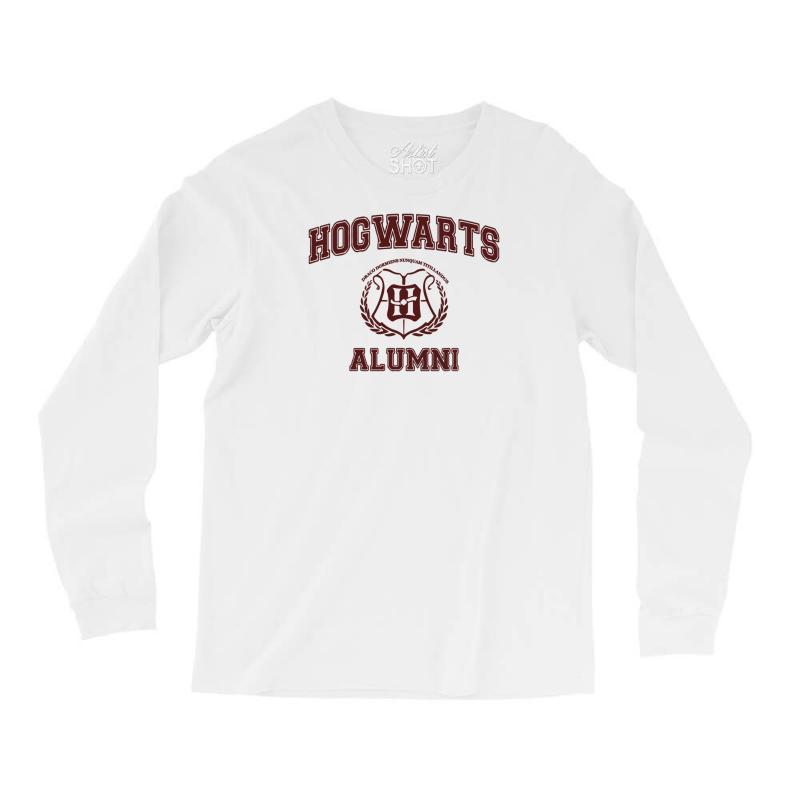 62d5812046 Custom Hogwarts Alumni Long Sleeve Shirts By Ismanurmal4 - Artistshot