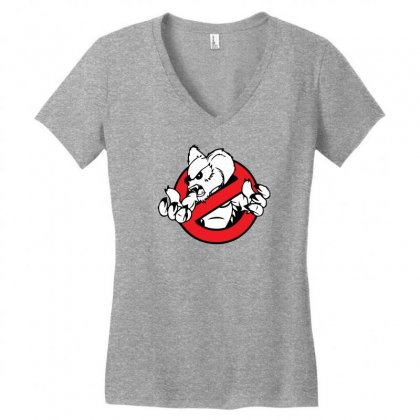 Australia Drop Bear Women's V-neck T-shirt Designed By Specstore