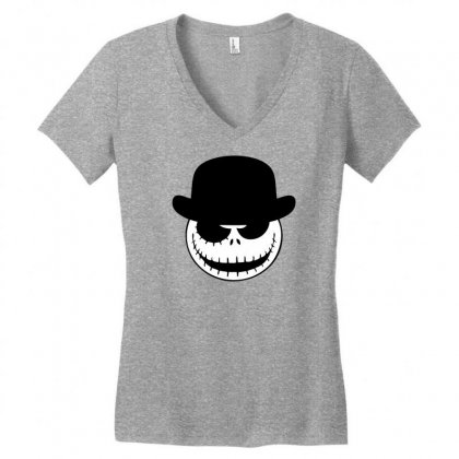 A Clockwork Nightmare Women's V-neck T-shirt Designed By Specstore