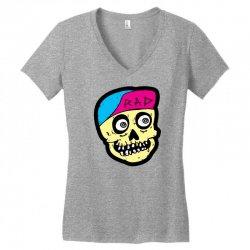 Radiskull Women's V-Neck T-Shirt   Artistshot