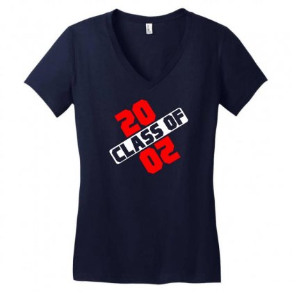 Class Of 2020 Women's V-neck T-shirt Designed By Designbycommodus