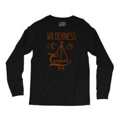wilderness camper Long Sleeve Shirts | Artistshot