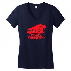 family christmas Women's V-Neck T-Shirt | Artistshot