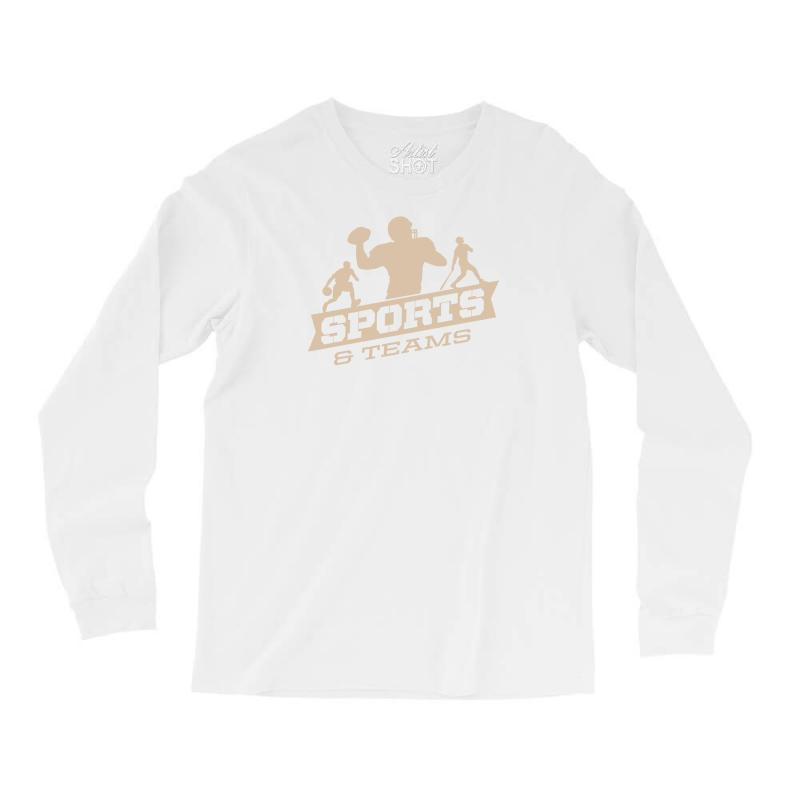 Sports And Teams Long Sleeve Shirts | Artistshot