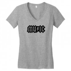 music Women's V-Neck T-Shirt | Artistshot