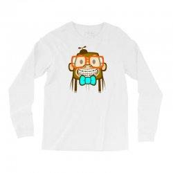 geek monkey Long Sleeve Shirts | Artistshot