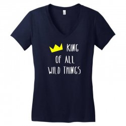king of all wild things Women's V-Neck T-Shirt | Artistshot
