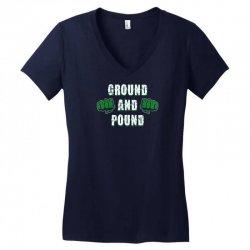 ground and pound Women's V-Neck T-Shirt | Artistshot