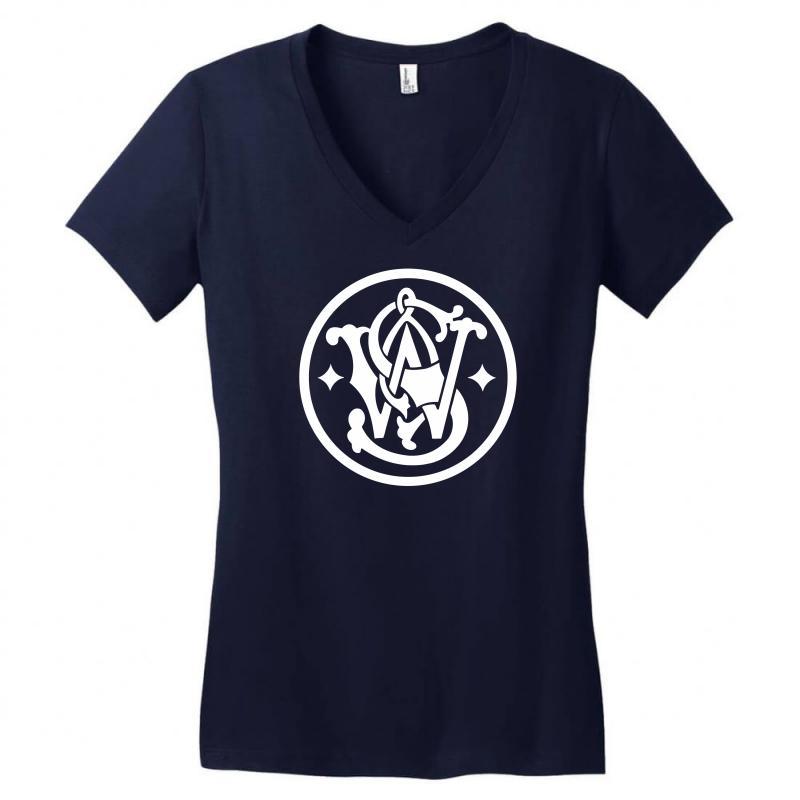 Smith & Wesson Women's V-neck T-shirt | Artistshot