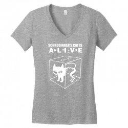 the big bang theory sheldon cooper schrodinger's cat Women's V-Neck T-Shirt | Artistshot
