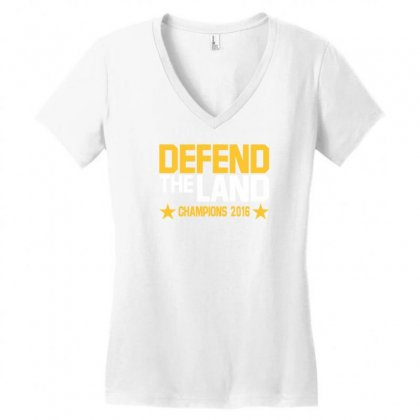 Cleveland Cavaliers Women's V-neck T-shirt Designed By Vr46