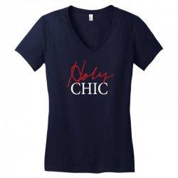 holy chic Women's V-Neck T-Shirt | Artistshot