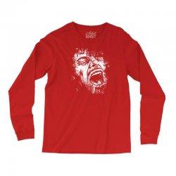 Scream Face Long Sleeve Shirts | Artistshot