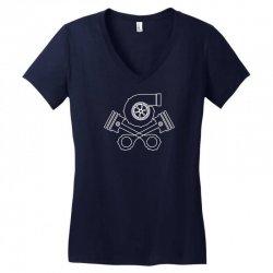 v8 boost tuning jdm turbo drift racing Women's V-Neck T-Shirt | Artistshot