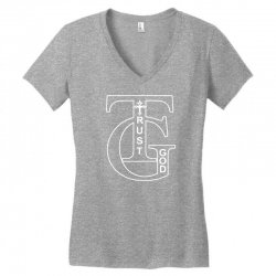 trust god t shirt Women's V-Neck T-Shirt | Artistshot