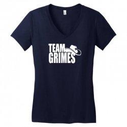 team grimes walking dead Women's V-Neck T-Shirt | Artistshot