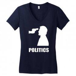 politics Women's V-Neck T-Shirt | Artistshot