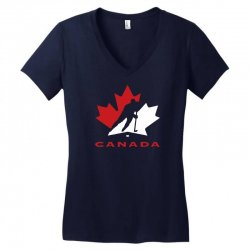 hockey canada Women's V-Neck T-Shirt | Artistshot