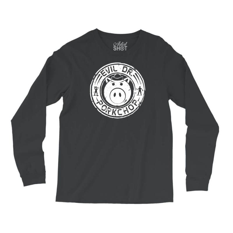 Evil Dr Porkchop Long Sleeve Shirts  By Artistshot