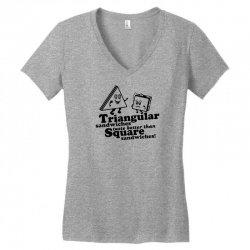 triangular sandwiches Women's V-Neck T-Shirt   Artistshot