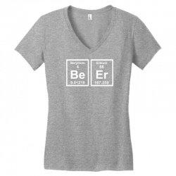 geek beer Women's V-Neck T-Shirt | Artistshot