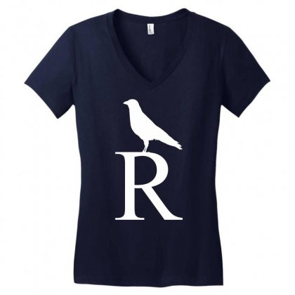 Harry Potter House Women's V-neck T-shirt Designed By Printshirts
