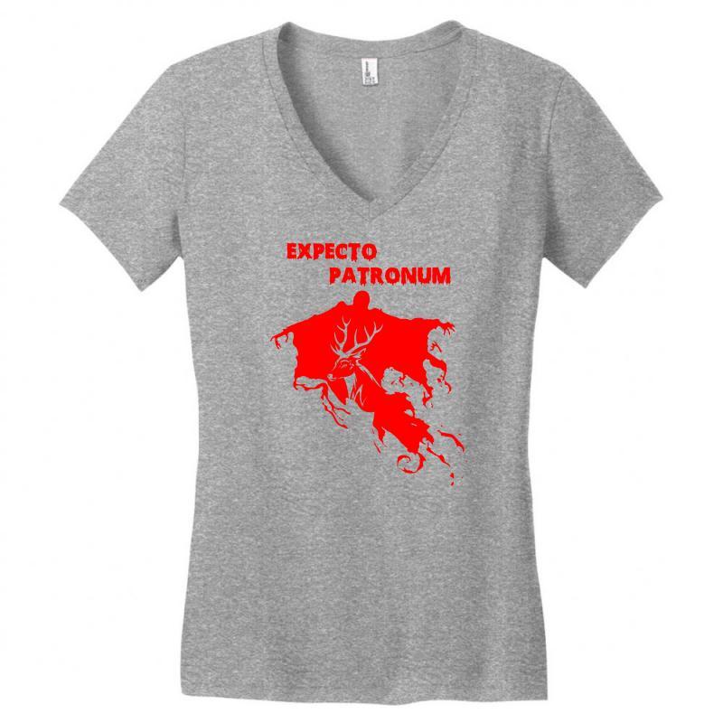e8cf73e8 Custom Expecto Patronum Harry Potter Women's V-neck T-shirt By ...