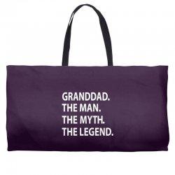 granddad the man the myth the legend Weekender Totes | Artistshot