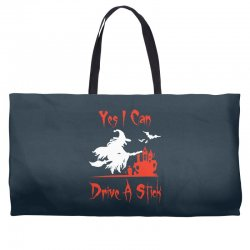 yes i can drive a stick funny Weekender Totes   Artistshot