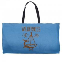 wilderness camper Weekender Totes | Artistshot