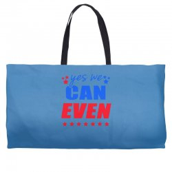 Yes We Can Even Weekender Totes | Artistshot