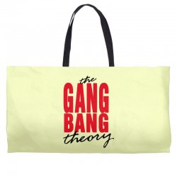 the gang bang theory Weekender Totes | Artistshot