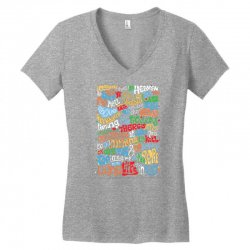 funny john lennon imagine quote Women's V-Neck T-Shirt | Artistshot
