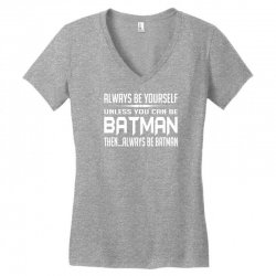 funny batman Women's V-Neck T-Shirt | Artistshot
