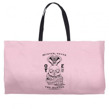 Hunter Never The Hunted Weekender Totes Designed By Specstore