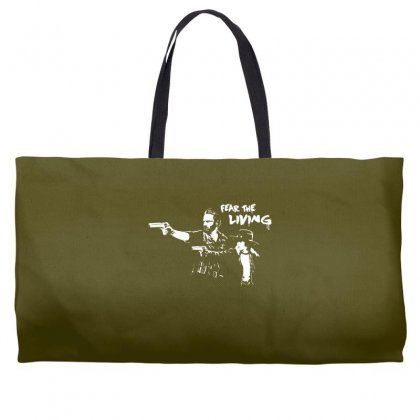 Fear The Living Weekender Totes Designed By Specstore