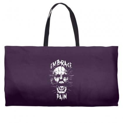 Embrace Pain Weekender Totes Designed By Specstore