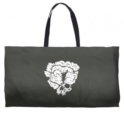 Clicker Skull Weekender Totes Designed By Specstore