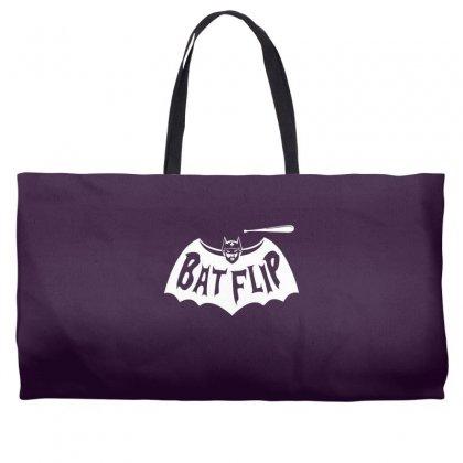 Bat Flip Weekender Totes Designed By Specstore