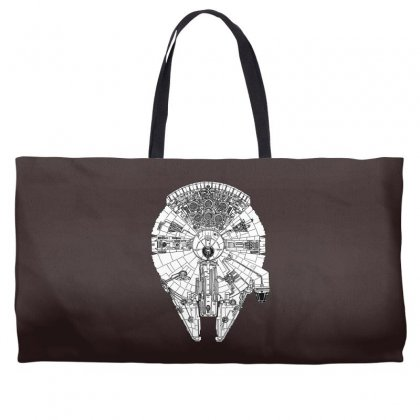 Millenium Falcon Star Wars Must Have Weekender Totes Designed By Specstore