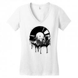 music city Women's V-Neck T-Shirt   Artistshot