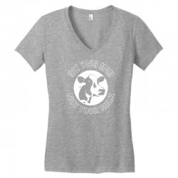 funny cow Women's V-Neck T-Shirt | Artistshot