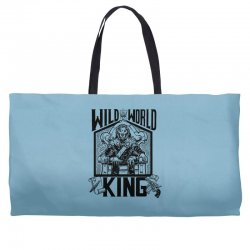 Wild World King Weekender Totes | Artistshot