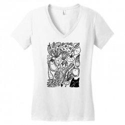 funny vegetables Women's V-Neck T-Shirt | Artistshot