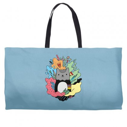 Abstracat Weekender Totes Designed By Specstore