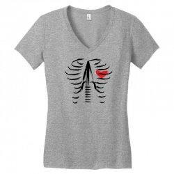 music in the heart Women's V-Neck T-Shirt | Artistshot