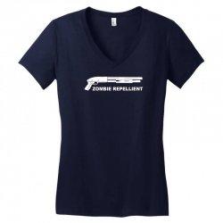 zombie repllent Women's V-Neck T-Shirt | Artistshot