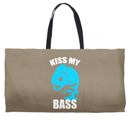 Kiss My Bass Weekender Totes Designed By Specstore