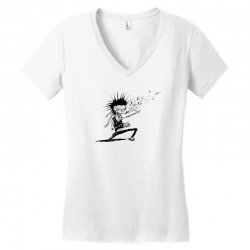 Zombie Music Women's V-Neck T-Shirt | Artistshot